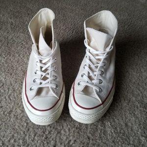 6979db7ea01c4 Converse Shoes - Converse Chuck 70 High Top - Parchment